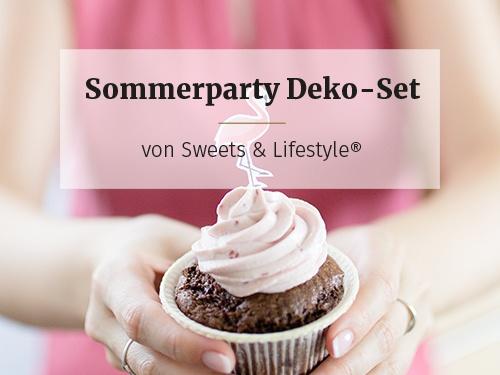 Sommerparty Deko-Set zum Selberbasteln von Sweets & Lifestyle®