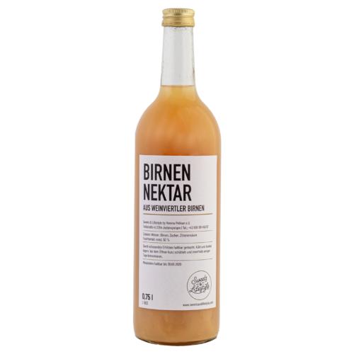 Birnennektar aus Weinviertler Birnen in der 750ml Flasche von Sweets & Lifestyle®