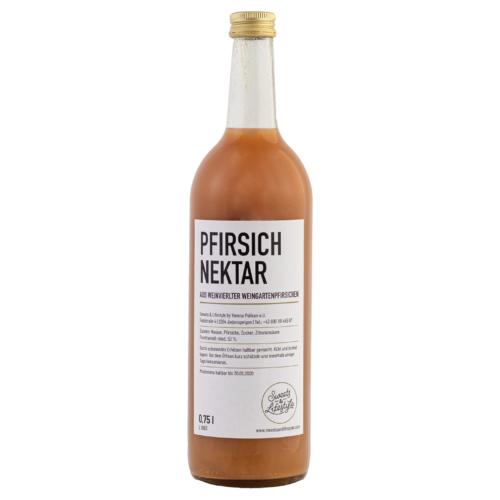 Pfirsichnektar aus Weinviertler Weingartenpfirsichen in der 750ml Flasche von Sweets & Lifestyle®