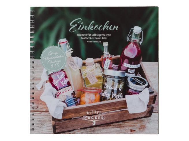 Titelbild vom Buch Einkochen Rezepte für selbstgemachte Köstlichkeiten im Glas von Verena Pelikan
