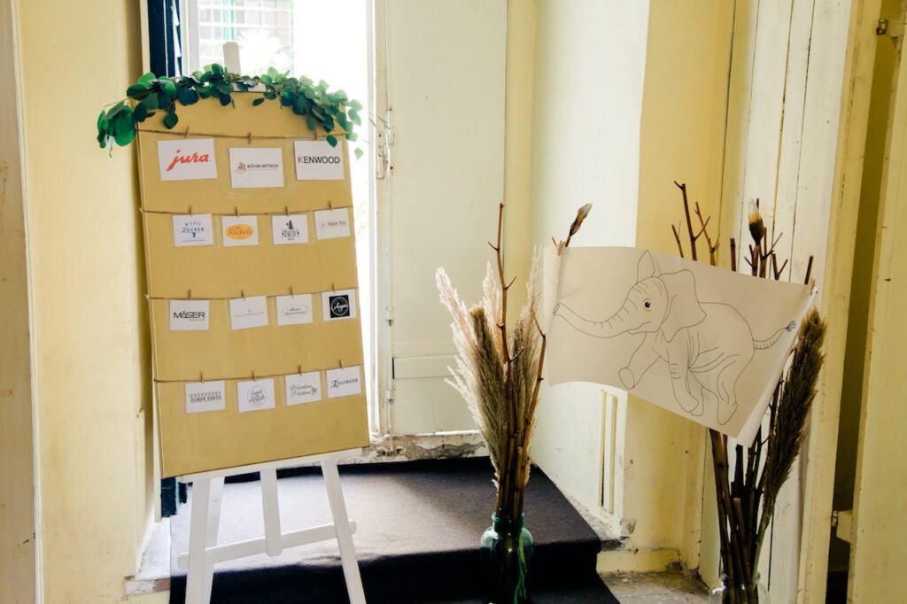 Kooperationspartner vom SchlossStudio bei der SchlossStudio Eroeffnung