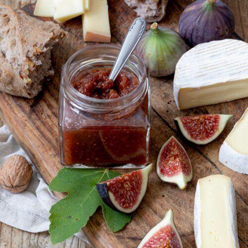 Ein leckeres Feigensenf Rezept wird im Einkoch-Kochkurs von Verena Pelikan im SchlossStudio verraten