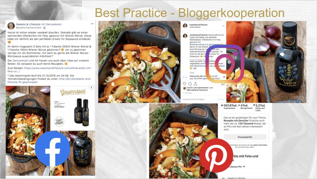 Influencer Relations Best Practice gezeigt am Beispiel von der erfolgreichen Zusammenarbeit der beiden Weinviertler Marken Wiener Wuerze und Sweets and Lifestyle von Social Media Expertin Verena Pelikan