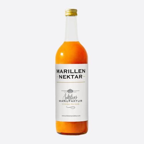 SchlossManufaktur Marillennektar erhaeltlich in der 750ml Flasche