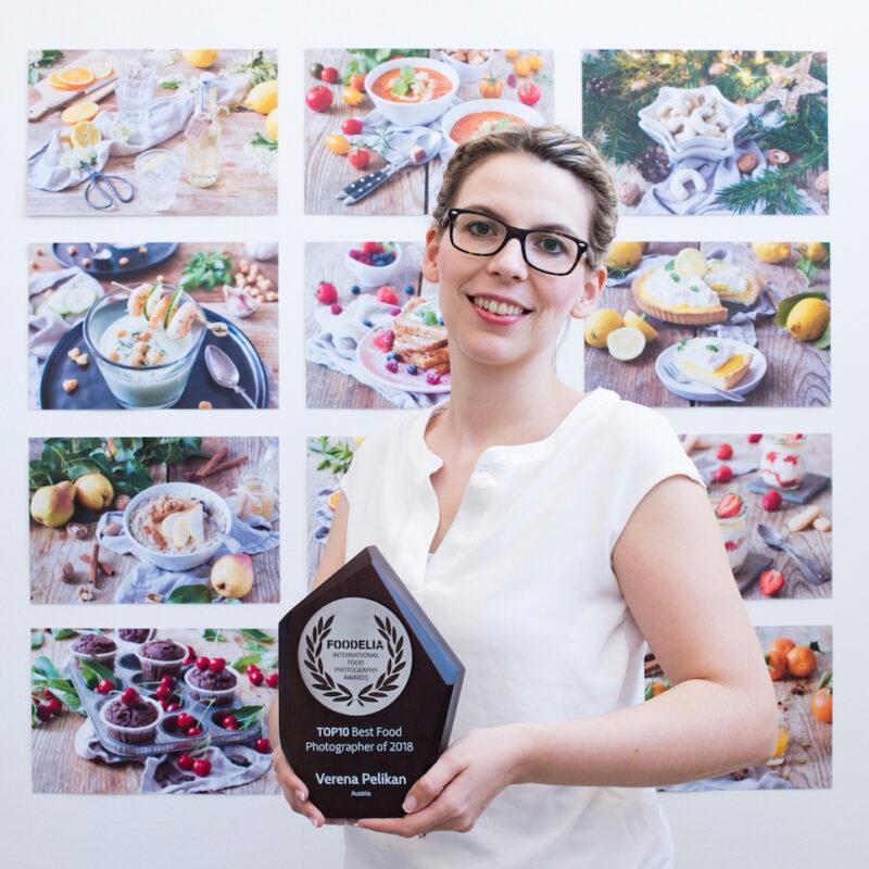 Food Fotografin Verena Pelikan mit Foodelia International Food Photographer Awards Top 10 Auszeichnung
