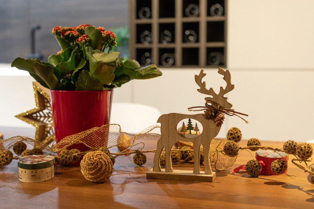 Weihnachtsdekoration im Schauraum Wien fotografiert von Verena Pelikan