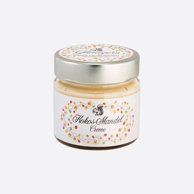 Glinitzers Wiener Salon Nougat Kokos Mandel Creme 100g in der SchlossManufaktur von Verena Pelikan