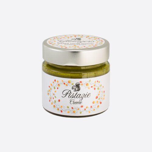 Glinitzers Wiener Salon Nougat Pistazie Creme 100g in der SchlossManufaktur von Verena Pelikan