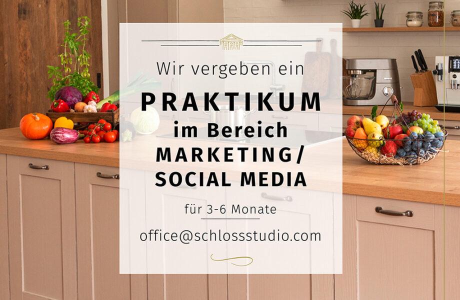 Praktikum im Bereich Marketing und Social Media