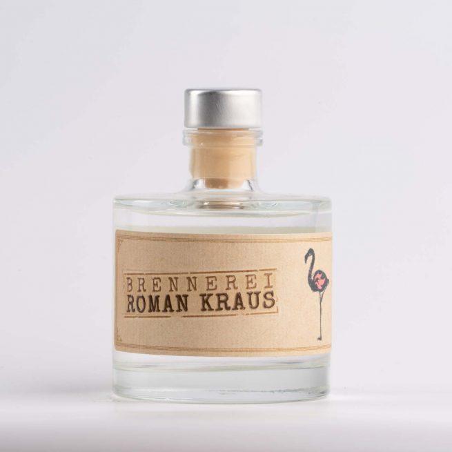 KGIN Weinviertel Dry Gin der Brennerei Roman Kraus erhaeltlich in der SchlossManufaktur in der 100ml Flasche
